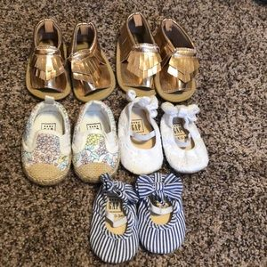 Small lot of Baby Gap shoes